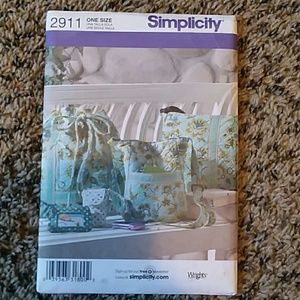 Simplicity Bag Sewing Pattern